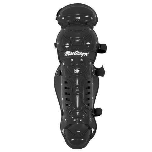 MacGregor B66 Double Knee Prep Leg Guard - Black