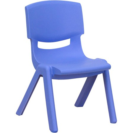 e55a2dc5eb6 Flash Furniture Plastic Stackable School Chairs, 10.5'' Seat Height, set of  4, Multiple Colors - Walmart.com