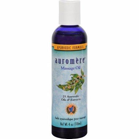 Auromere Ayurvedic Massage Oil - 4 Fl -