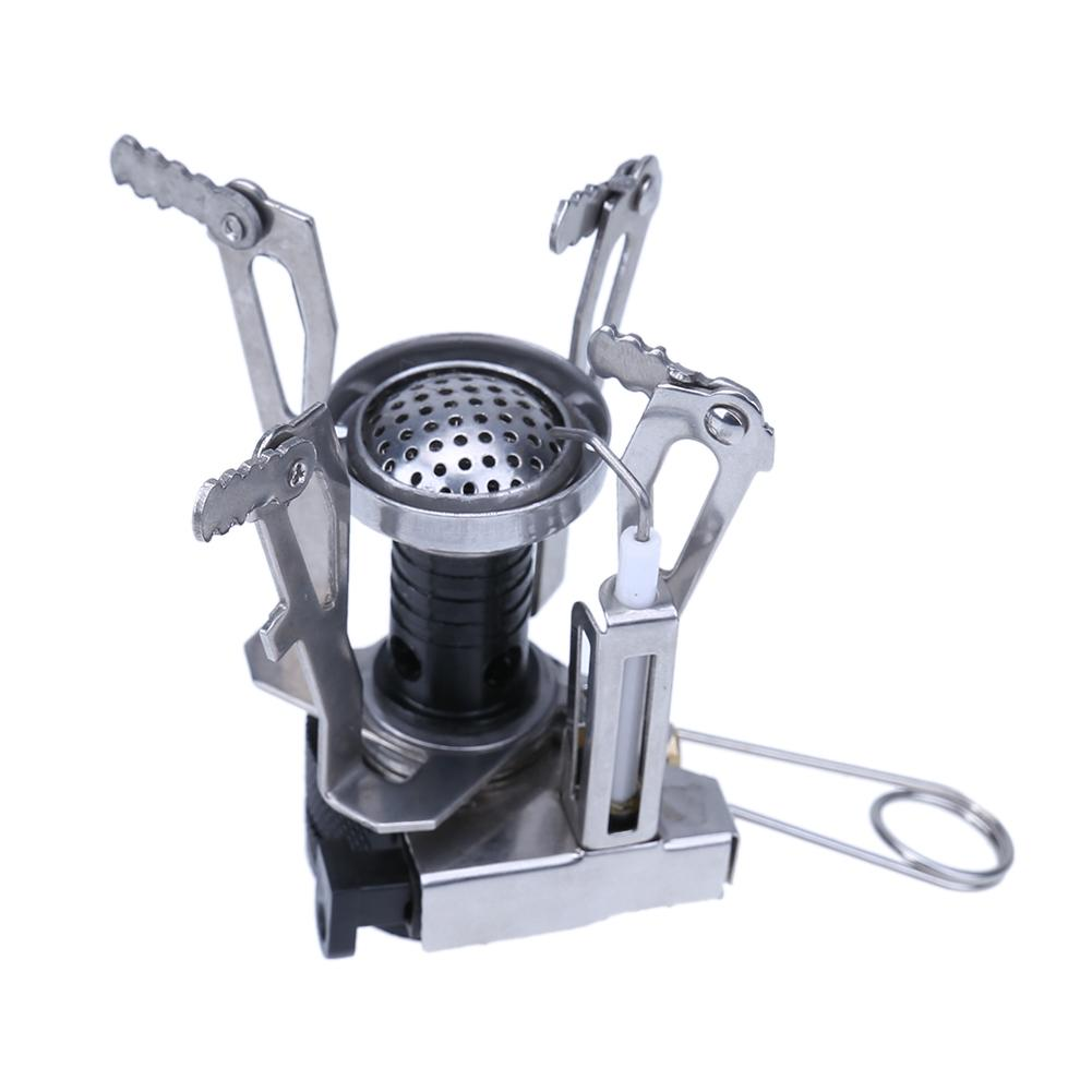 Ultralight Portable Mini Backpacking Travel Camp Stove Windproof Gas Burner