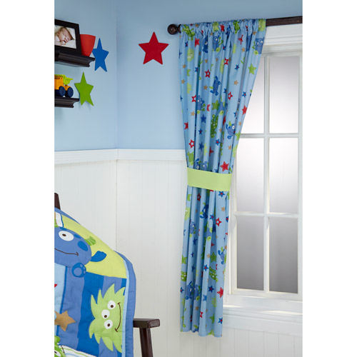 Little Bedding by NoJo Monster Babies Window Panel
