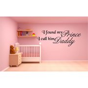 Everything Vinyl Decor Prince Daddy Inspirational Vinyl Wall Art
