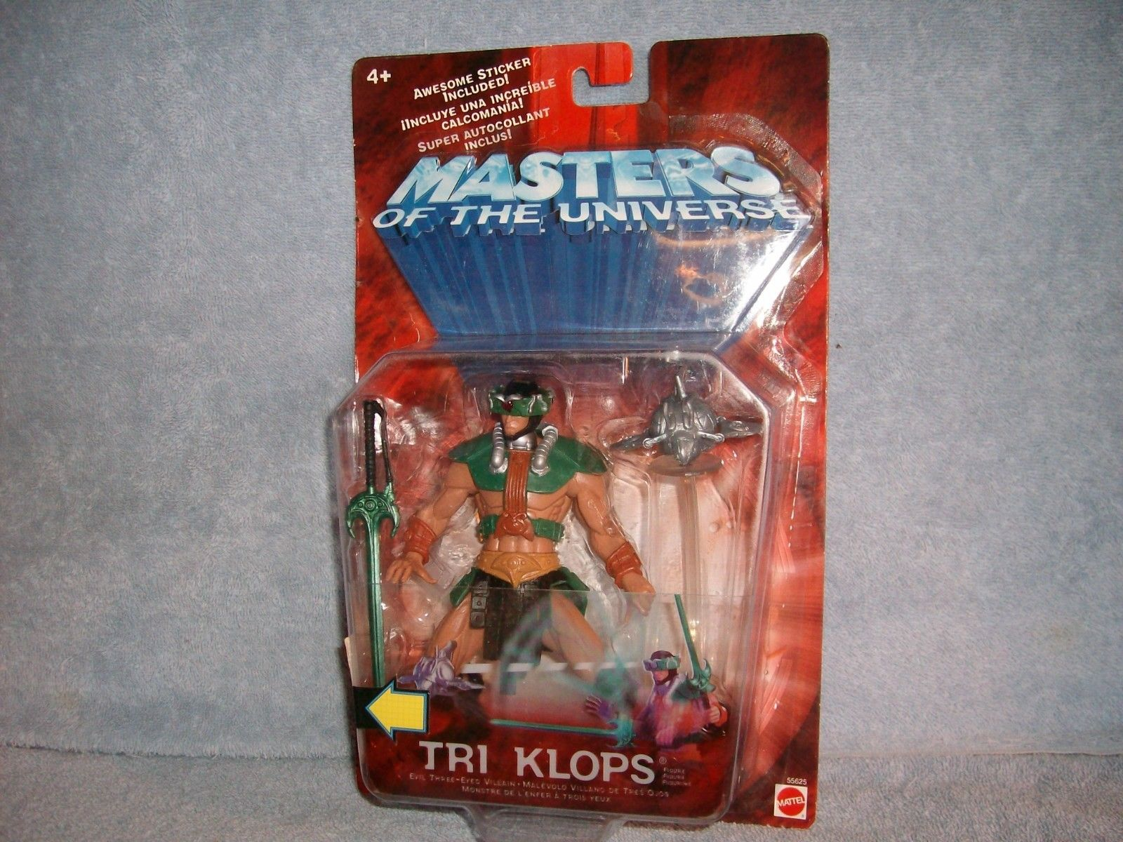 Mattel Masters Of The Universe Tri-Klops: Evil Three-Eyed Villain Action Figure New! by