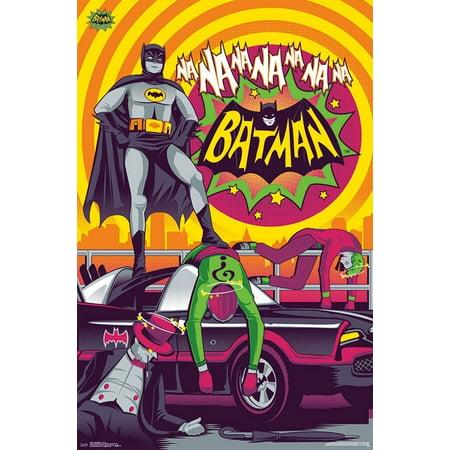 1966 Batman - Victory Poster - 1966 Batman Movie Poster