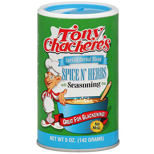 Tony Chachere's Special Herbal Blend Spice N' Herbs Seasoning, 5 oz (Pack of 6)