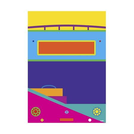 Bus Print Wall Art By Yoni Alter