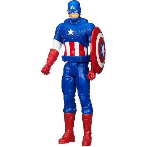 Marvel Avengers Titan Hero Series Captain America Figure