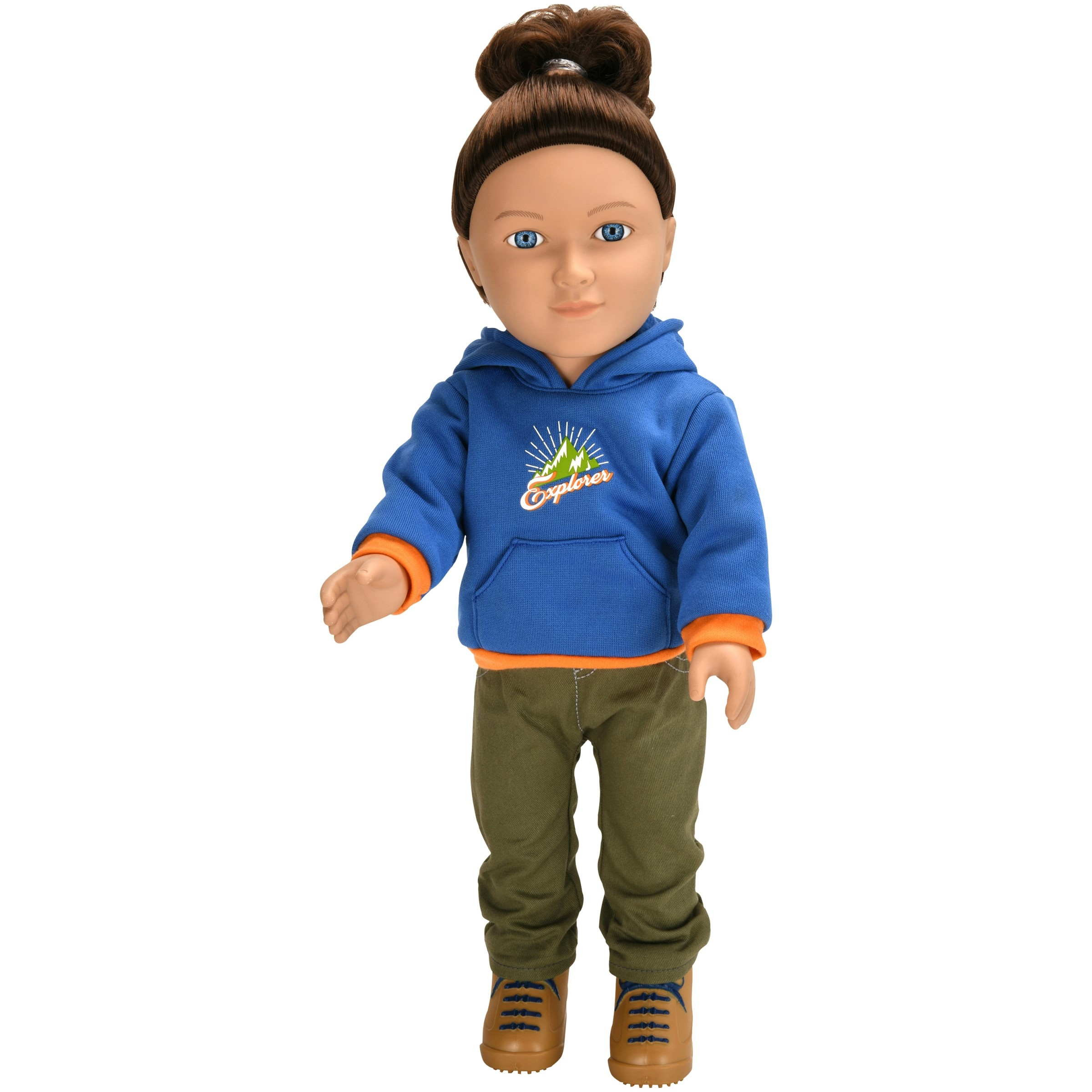 "My Life As 18"" Poseable Outdoorsy Boy Doll, Brunette Hair by My Life As"