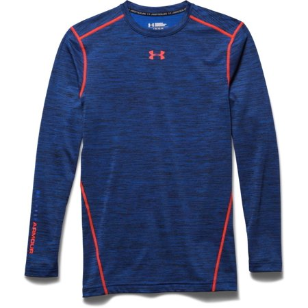 Under Armour Men's CG Twist Crew Shirt Cobalt/Bolt Orange  (Best Ego Twist Tank)