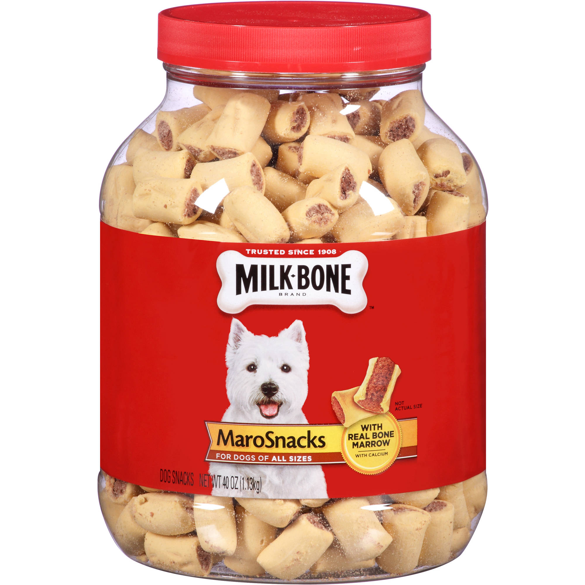 Milk-Bone MaroSnacks Crunchy Dog Treats, 40 oz