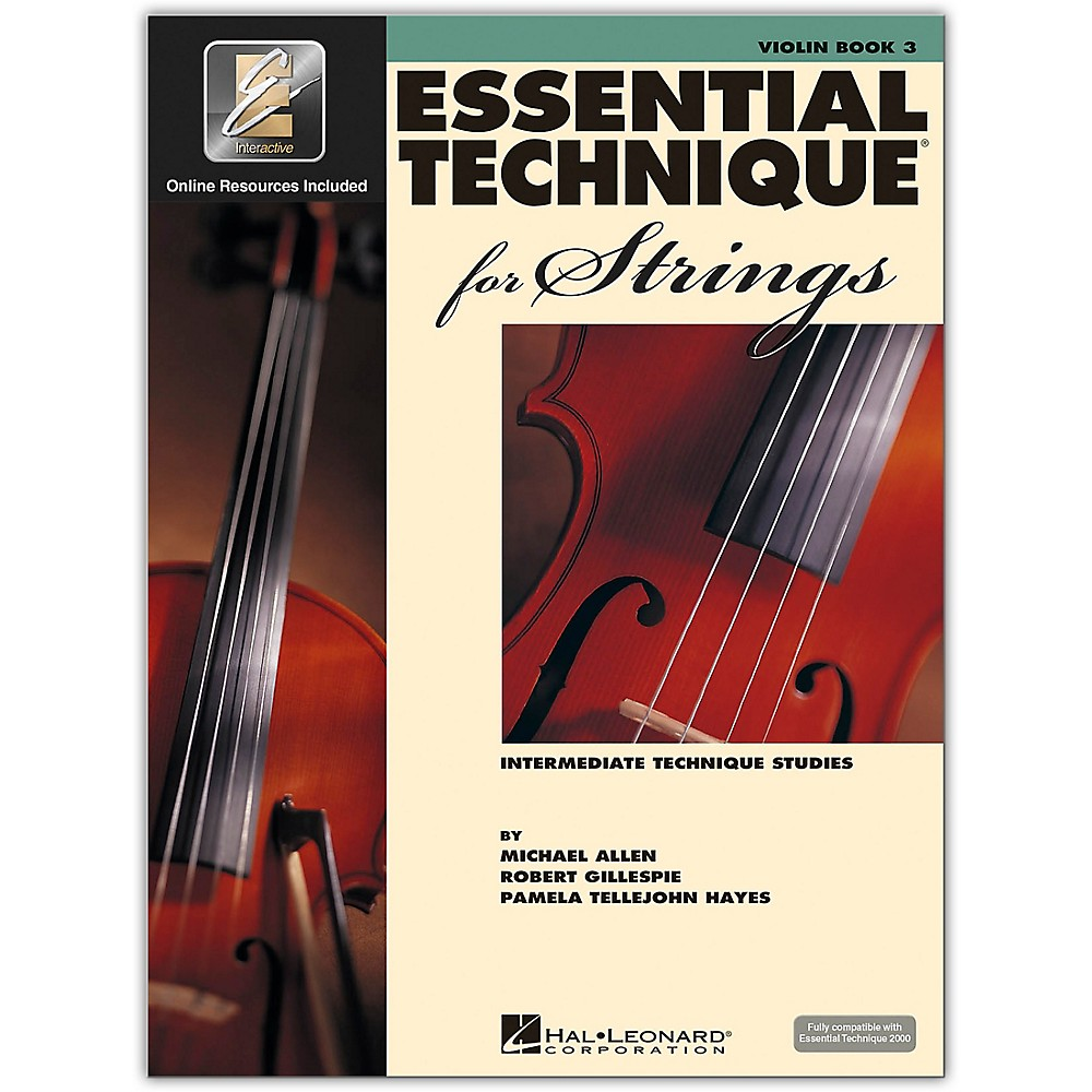 Hal Leonard Essential Technique for Strings - Violin 3 Book/Online Audio