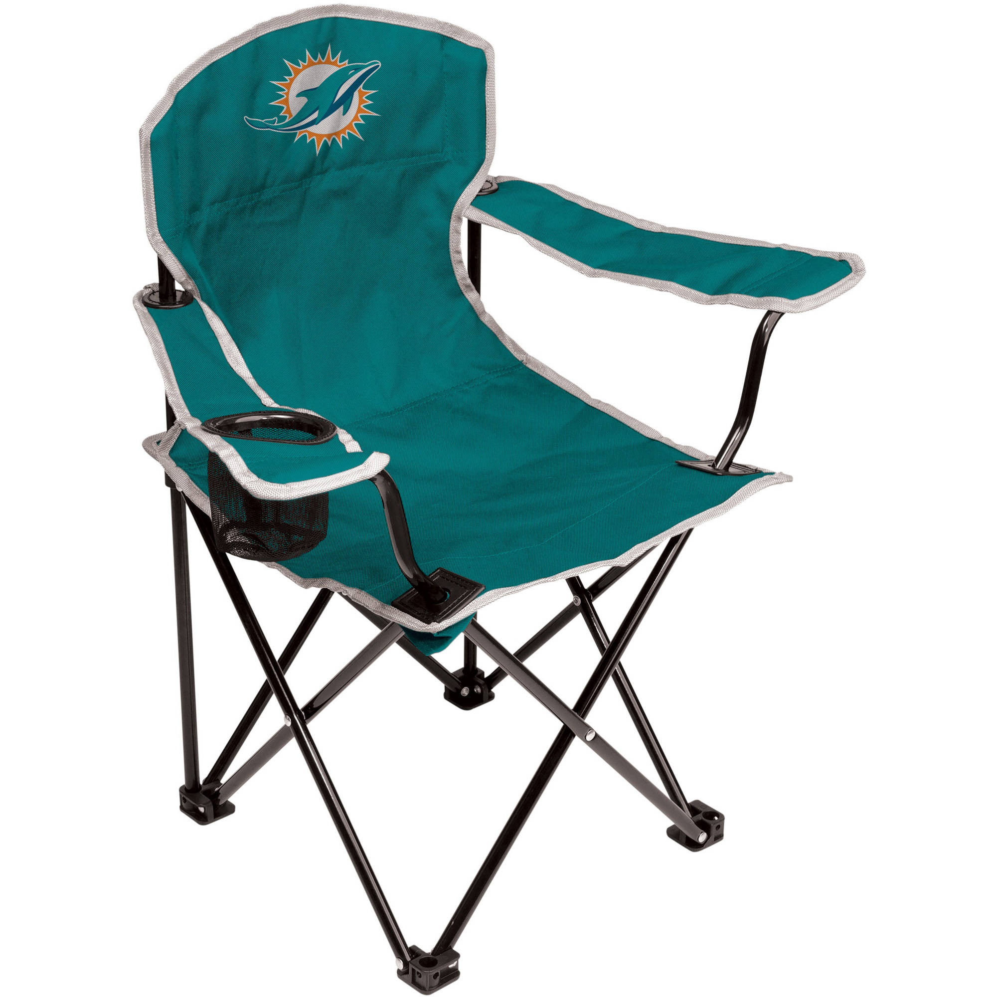 NFL Miami Dolphins Youth Size Tailgate Chair from Coleman by Rawlings