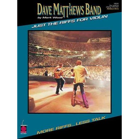 Dave Matthews Band: Just the Riffs for Violin by