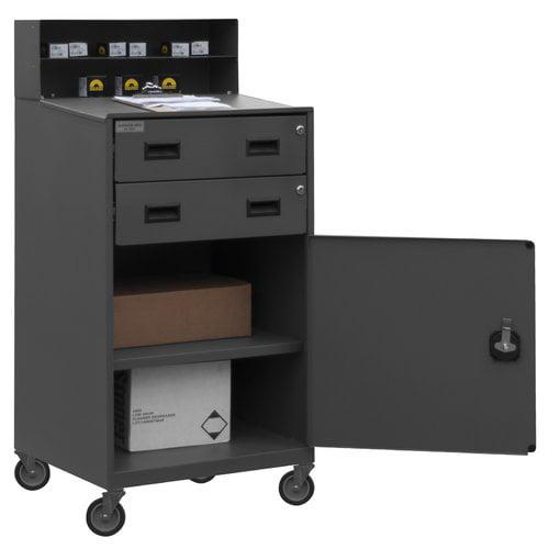 Shop Desk,23 x 51 x 20 In,Gray DURHAM FED-2023-95
