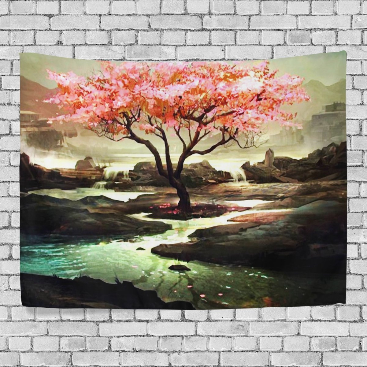 MYPOP Colorful Tree Tapestry Wall Decor Living Room Dorm Tapestries 60 x 40 inches