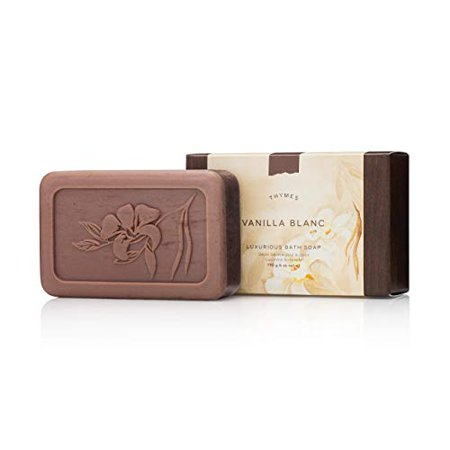 Thymes Vanilla Blanc Bath Soap