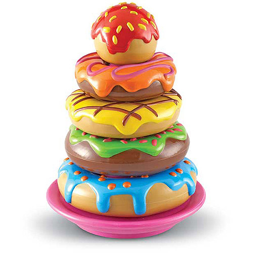 Learning Resources Smart Snacks Stack 'Em Up Doughnuts