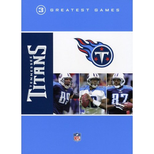 NFL Tennessee Titans: 3 Greatest Games (DVD) by WARNER HOME ENTERTAINMENT