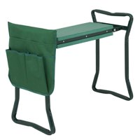 Zeny Foldable Garden Kneeler Bench w/ EVA Pad and Tool Pouch