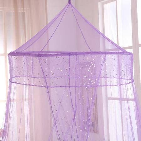 Sheer Canopy (Epoch Hometex, Inc. Sheer Galaxy Collapsible Hoop Kids Bed)