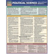 BarCharts 9781423218302 Political Science - International Relations Quickstudy Easel