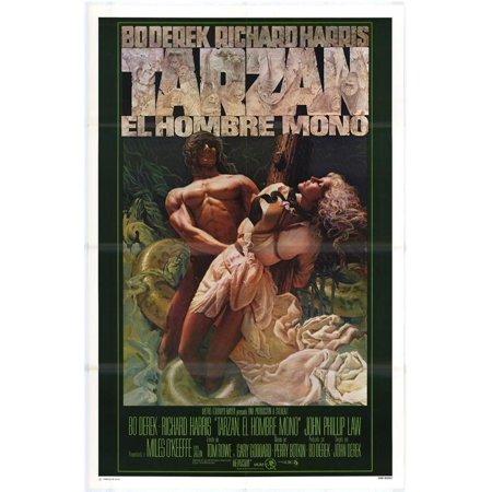 Tarzan The Ape Man Poster Movie  27X40