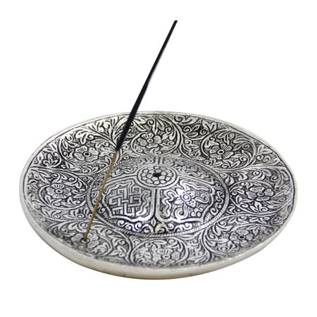 DharmaObjects Large 3 In 1 Tibetan Incense Holder Burner 6