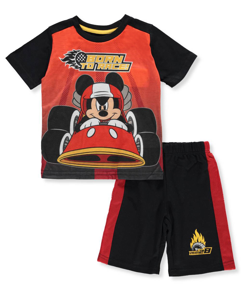 Disney Mickey Mouse Little Boys' Toddler 2-Piece Outfit