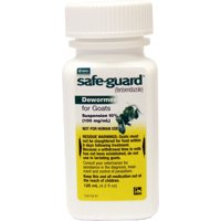 Safeguard Goat Dewormer, 125-ml.