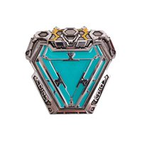 Marvel Iron Man Arc Reactor Magnetic Pin Replica