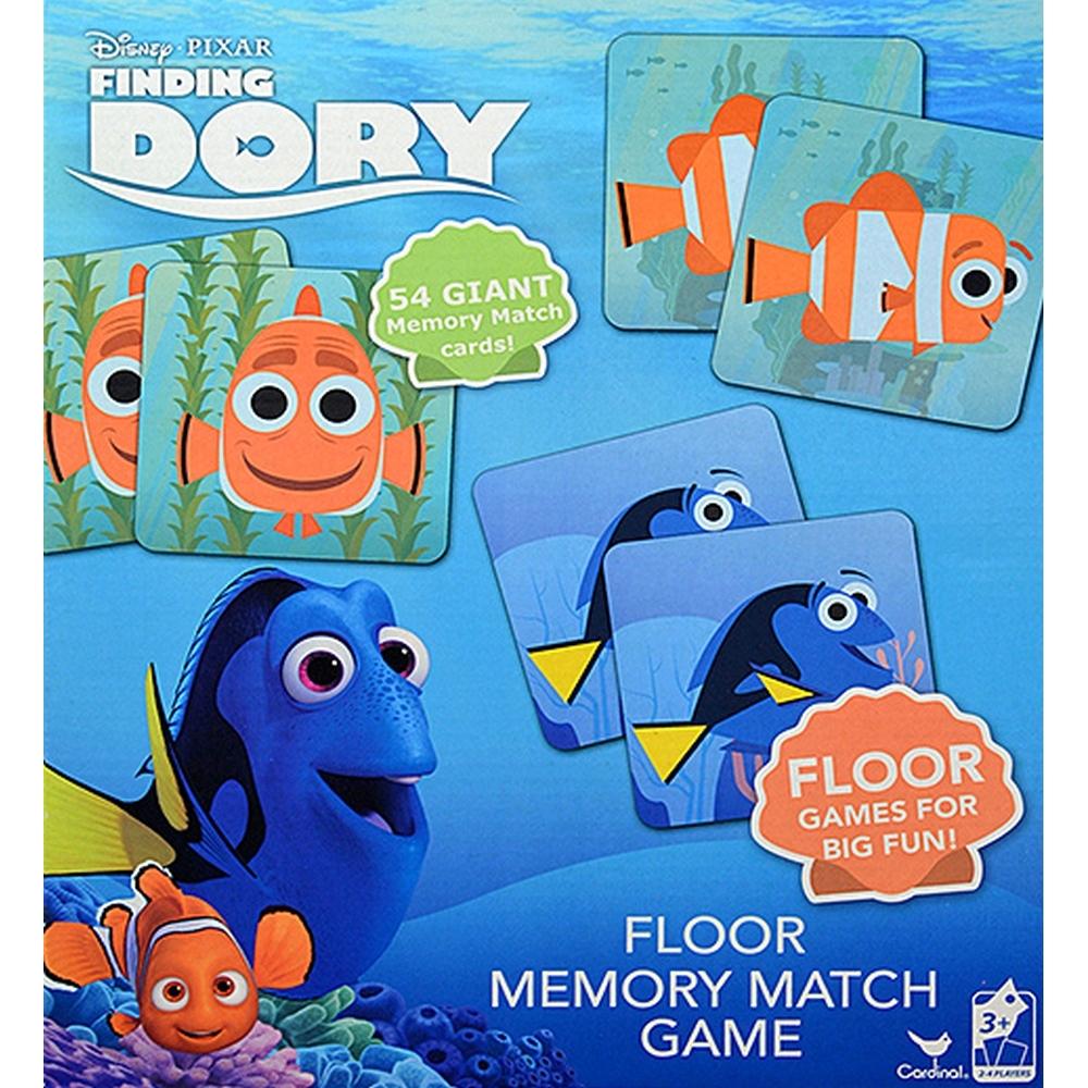Finding Dory Floor Memory Match