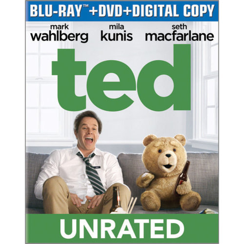 Ted (Blu-ray + DVD + Digital Copy) (With INSTAWATCH) (Widescreen)