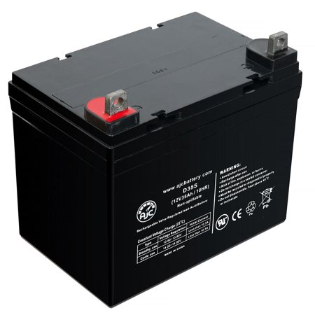 K&K Jump N Carry 12V 35Ah Jump Starter Battery - This is an AJC Brand Replacement