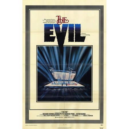 The Evil POSTER Movie Mini Promo for $<!---->