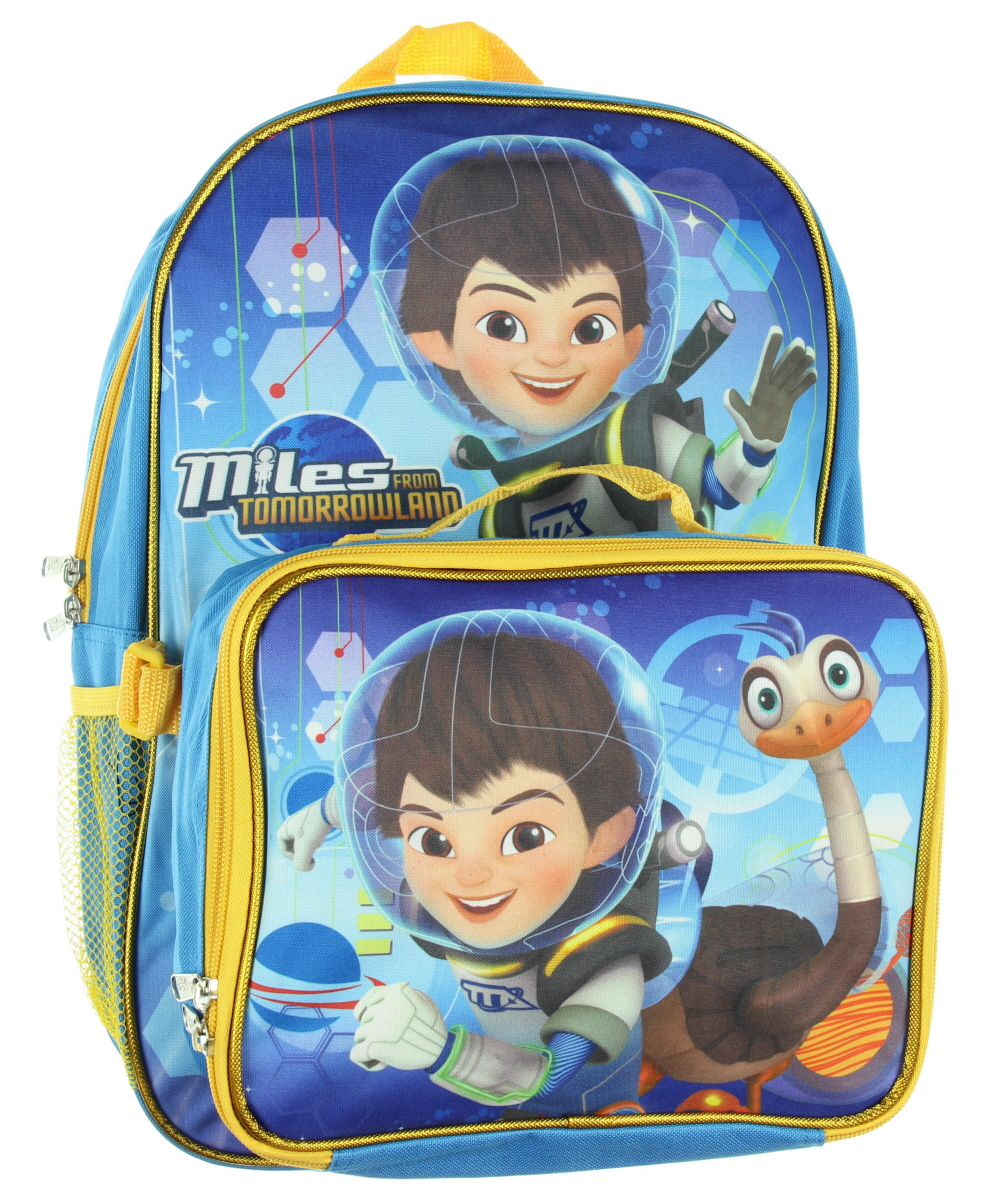 Disney Miles From Tomorrowland Large 16 Backpack With Lunch