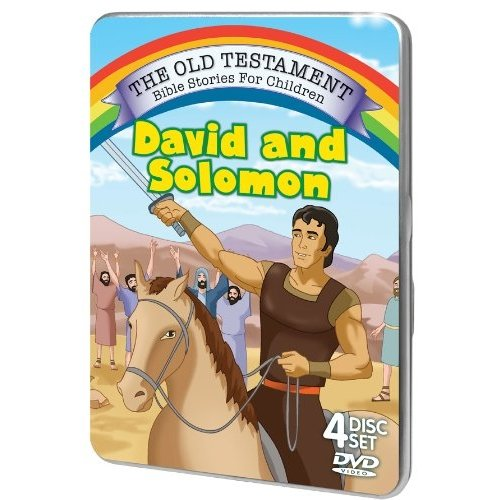 The Old Testament Bible Stories For Children: David And Solomon (Tin Case)