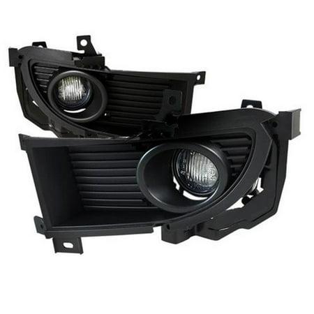 05 Fog Light Kit - Spec-D Tuning LF-LAN05COEM-HZ Clear Fog Lights with Wiring Kit for 04 to 05 Mitsubishi Lancer, 7 x 10 x 14 in.