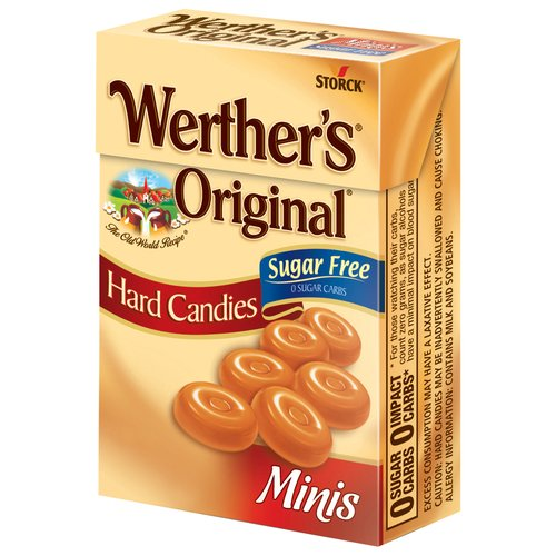 Werther's Original Minis Sugar Free Hard Candies, 1.48 oz