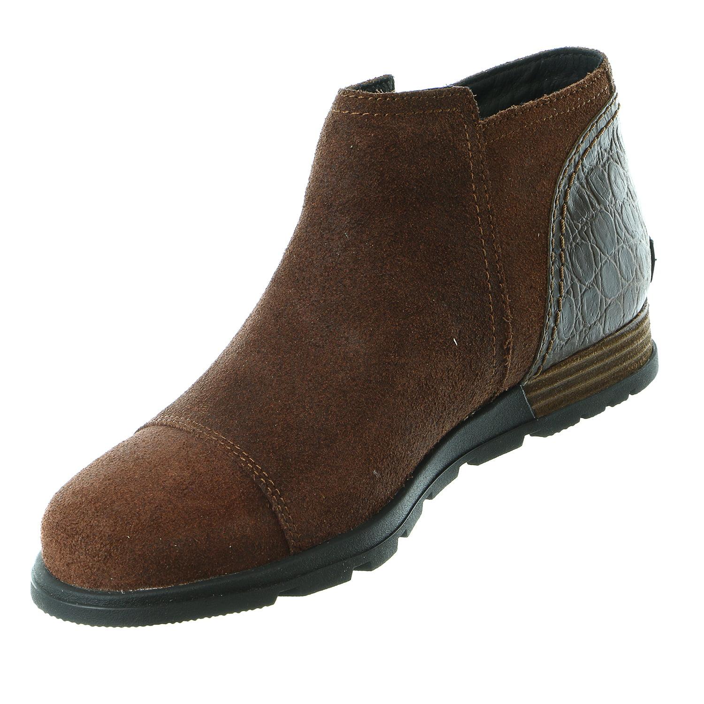 Sorel Major Low Bootie Zip Up Ankle Boot Shoe - Womens