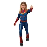Rubies Captain Marvel Girls Halloween Costume