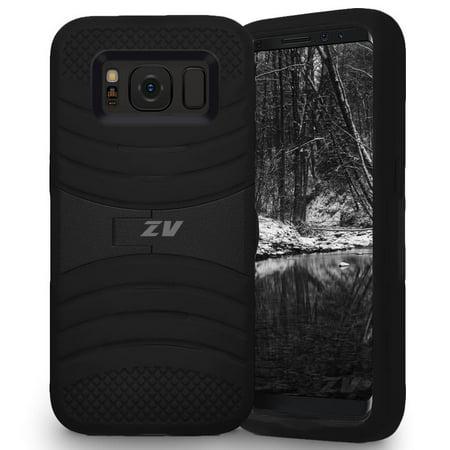 Samsung Galaxy S8 / S8 Plus Case, Zizo UCASE Tuff Dual Layered Cover w/
