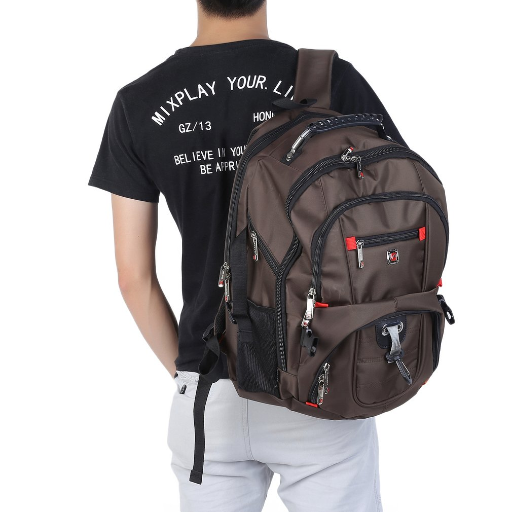 Men Woman Rucksack 15.6inch Laptop Notebook Backpack Shoulder Travel Bag