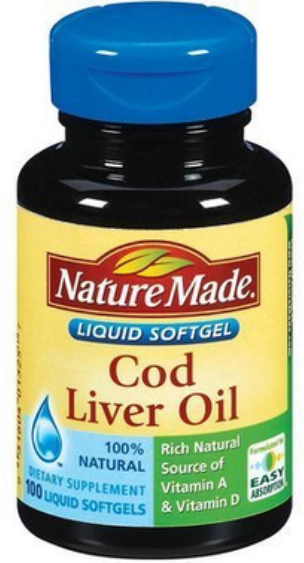 Nature Made Cod Liver Oil Liquid Softgels - 100 CT
