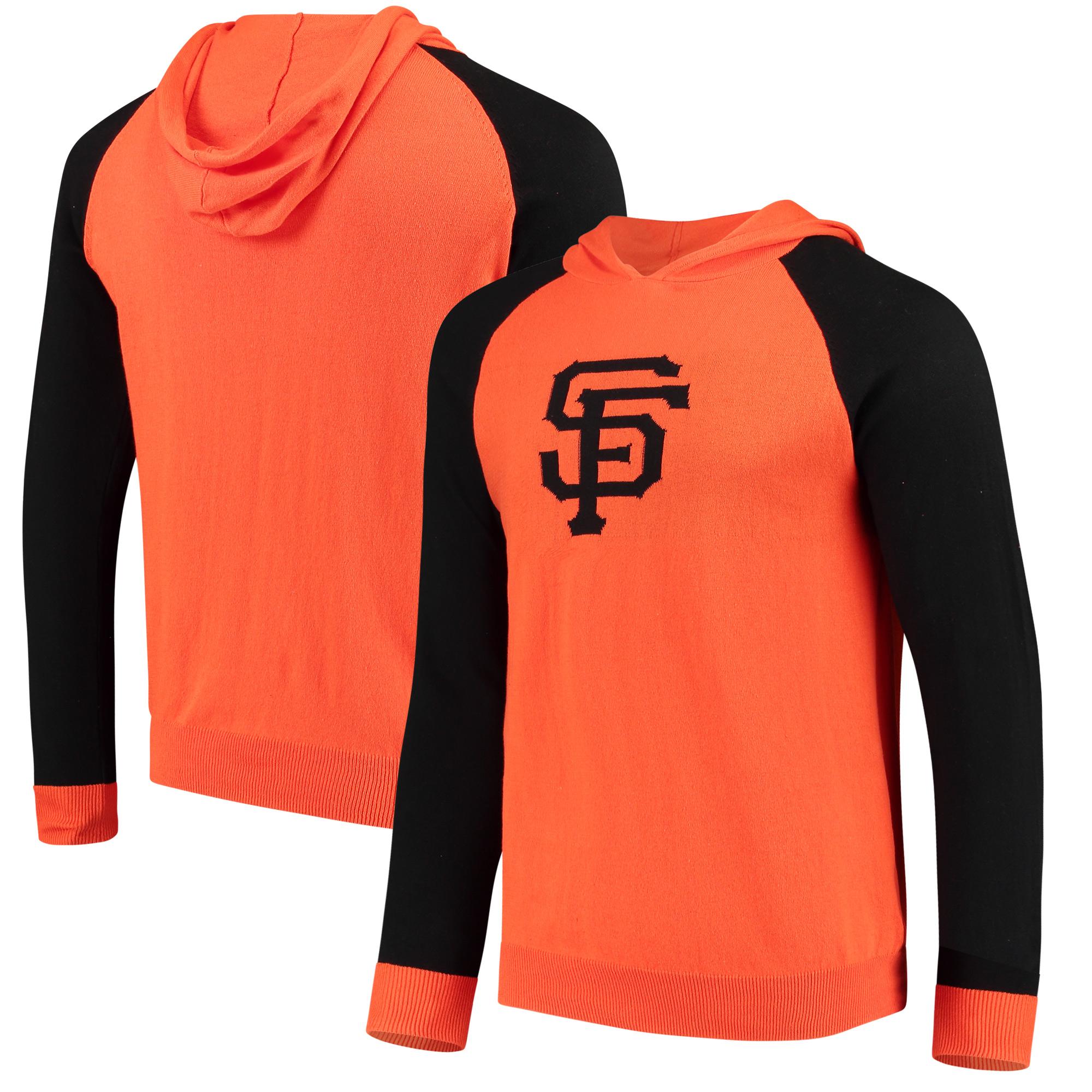 San Francisco Giants Team Logo Pullover Hoodie - Orange