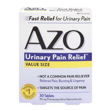 AZO urinaire soulagement de la douleur Valeur Taille - 30 CT