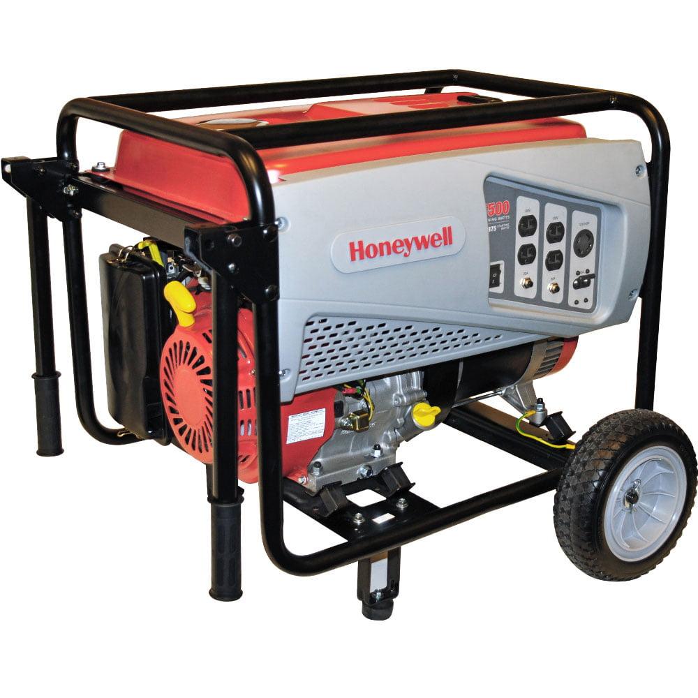 Honeywell Generators 6875 Watt Portable Gasoline Generator by Honeywell Generators