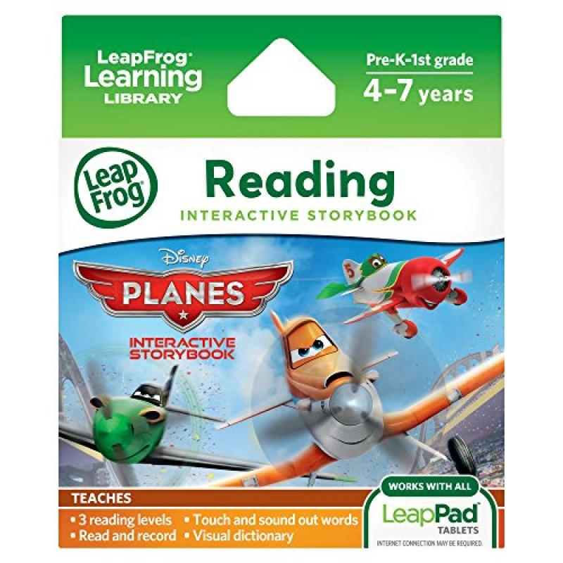 LeapFrog Disney: Planes Interactive Storybook for LeapPad Tablets by LeapFrog