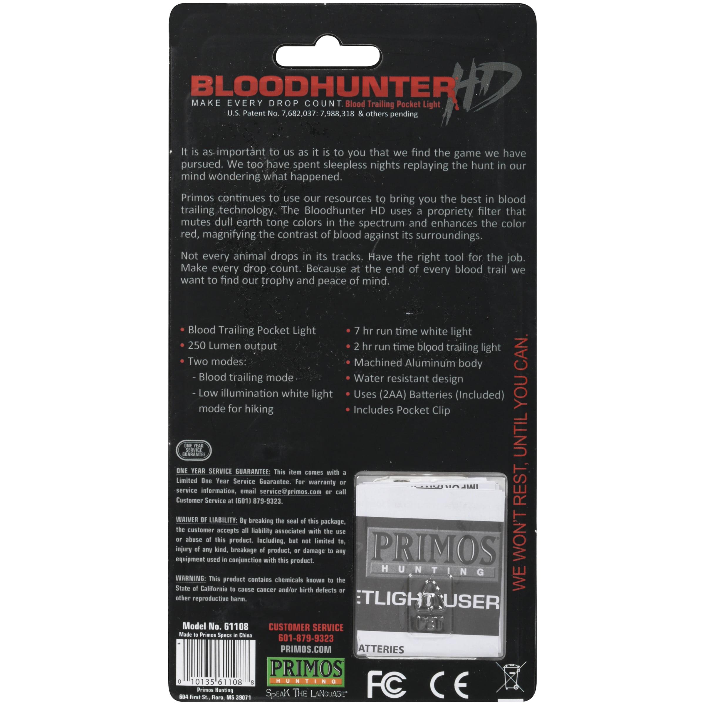 Primos 61108 Bloodhunter HD Pocket Light