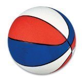 "Regulation 9.5"" Rubber Patriotic Basketball by PlayTime"