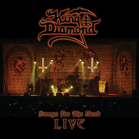 Songs For The Dead Live (CD) - Best Halloween Songs For Adults